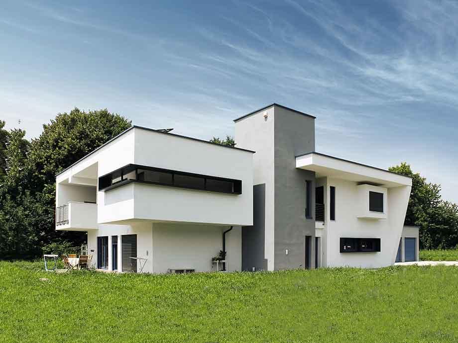 architekten fertigteilhaus villa toscana - Fertighausplne