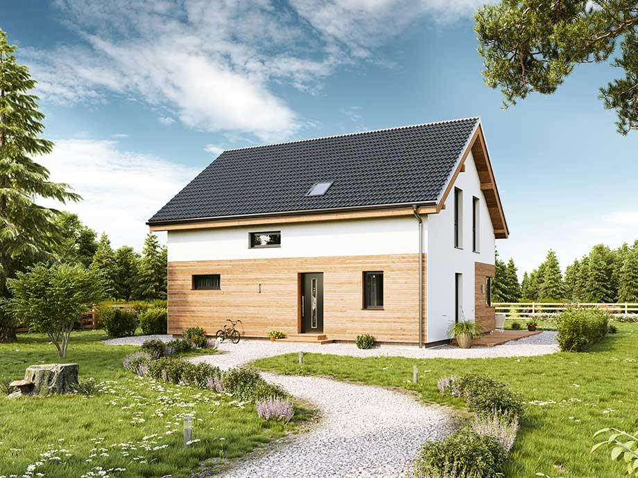 Fertighaus fertigteilhaus vario haus bauen for Haus bauen fertighaus